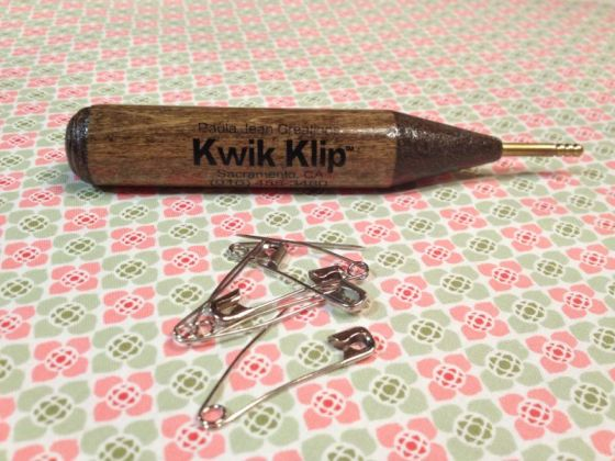 Kwik Clip and Safety Pins