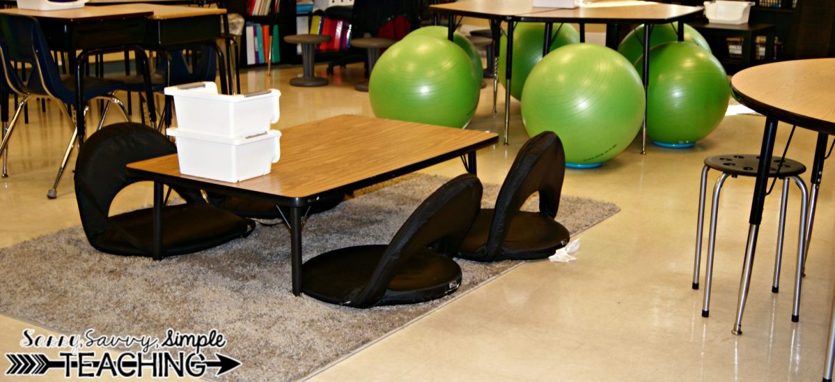 Flexible Seating Classroom!