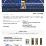 Single Axis Solar Tracker Information