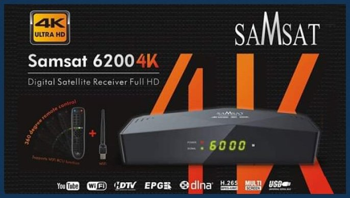 SAMSAT 6200 4K