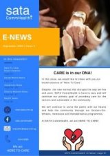 SATA CommHealth September Newsletter