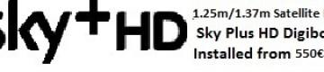 1.25m satellite dish installations for uk tv sky+hd Oliva