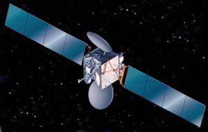 Astra 2C Satellite