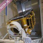 Astra 2E Satellite Picture Preparation