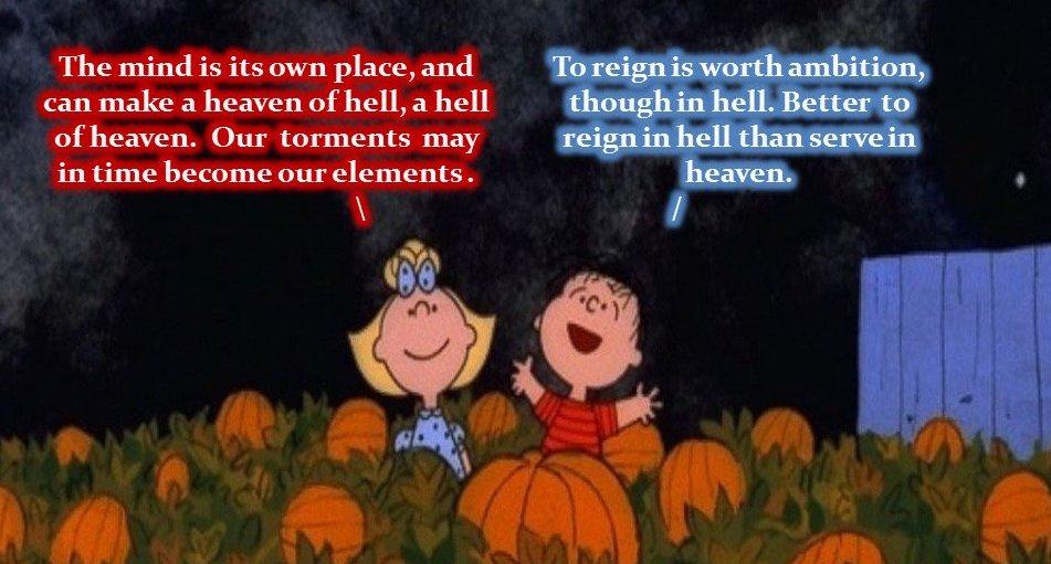 satanism great pumpkin halloween