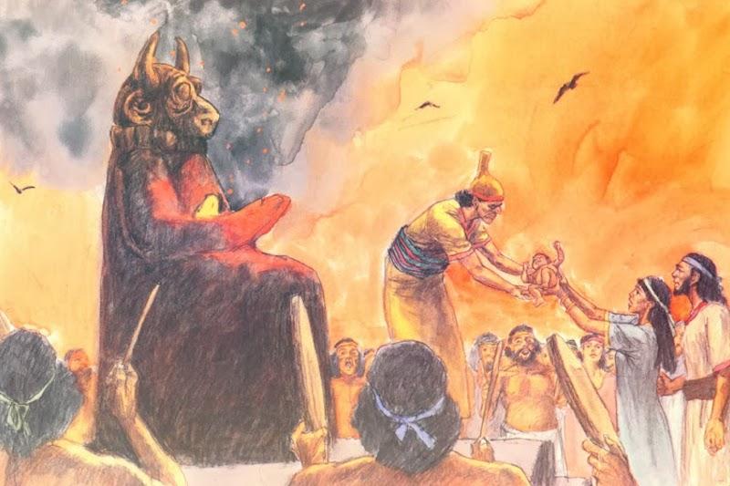 infanticide trump satanism