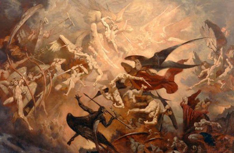 revolutionary war American satan