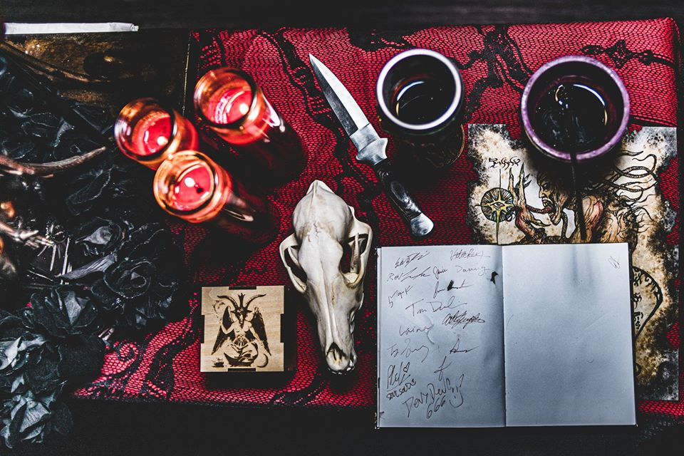Bay Area Satanists Come Out To Howl At Wolf Night