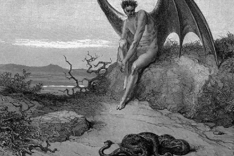 paradise lost satanic literature
