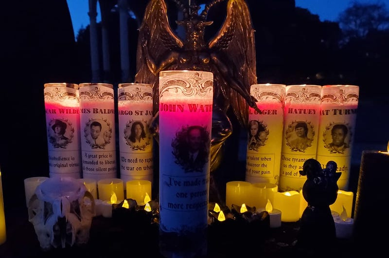 Bay Area Satanists Have Rite of Way For Walpurgisnacht