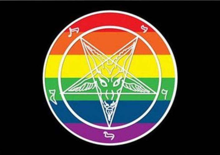 LGBT pride satanism