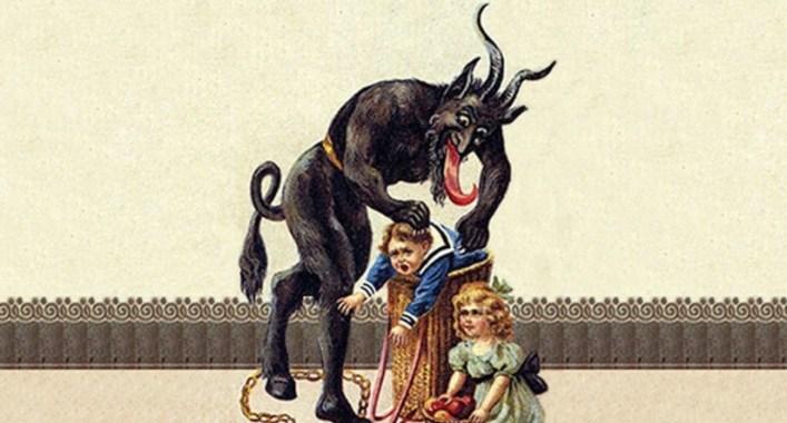 satan krampus war on christmas