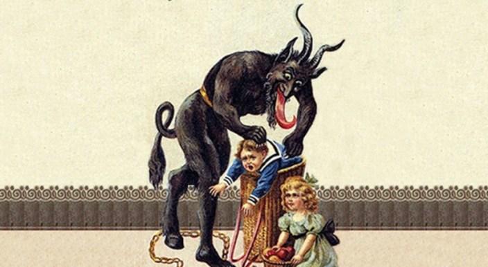 Christmas satan