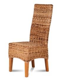 Dining Chair   Light Rattan   Light Coloured Legs   Casa ...