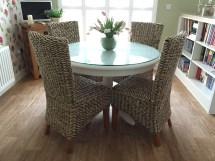 dining chair light - banana leaf
