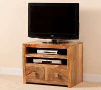 "Mango Indian Wood Small TV Stand | 32"" TV Unit 