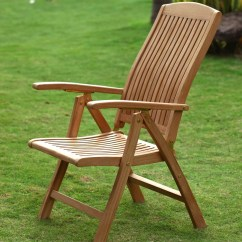 Chair Design Garden Crate And Barrel Dining Chairs Canada Teak Hampshire Reclining Armchair 10 Positions