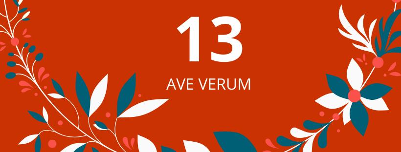 13. deň: Ave verum