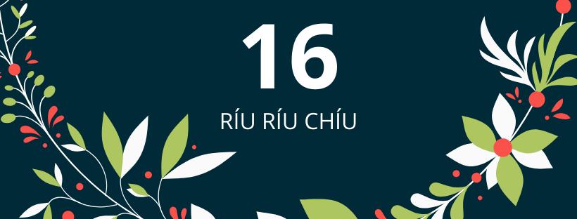 16. deň: Ríu ríu chíu