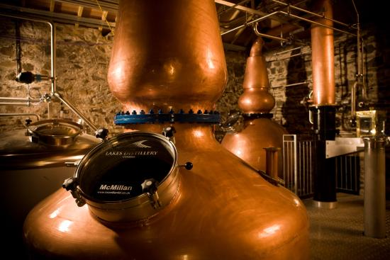The Lakes Distillery The Lake District Copper Still