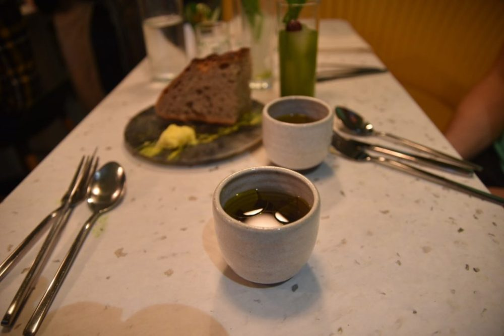 Cub restaurant Bone Marrow broth