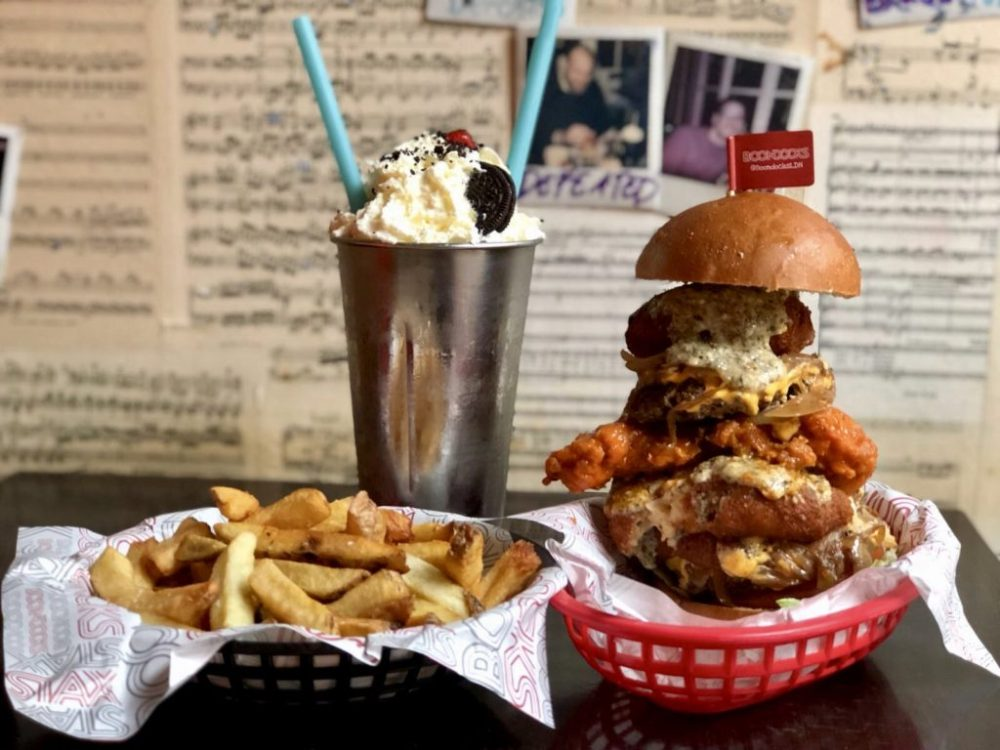 "Boondocks announces ""The Mac Attack"" Burger Challenge"