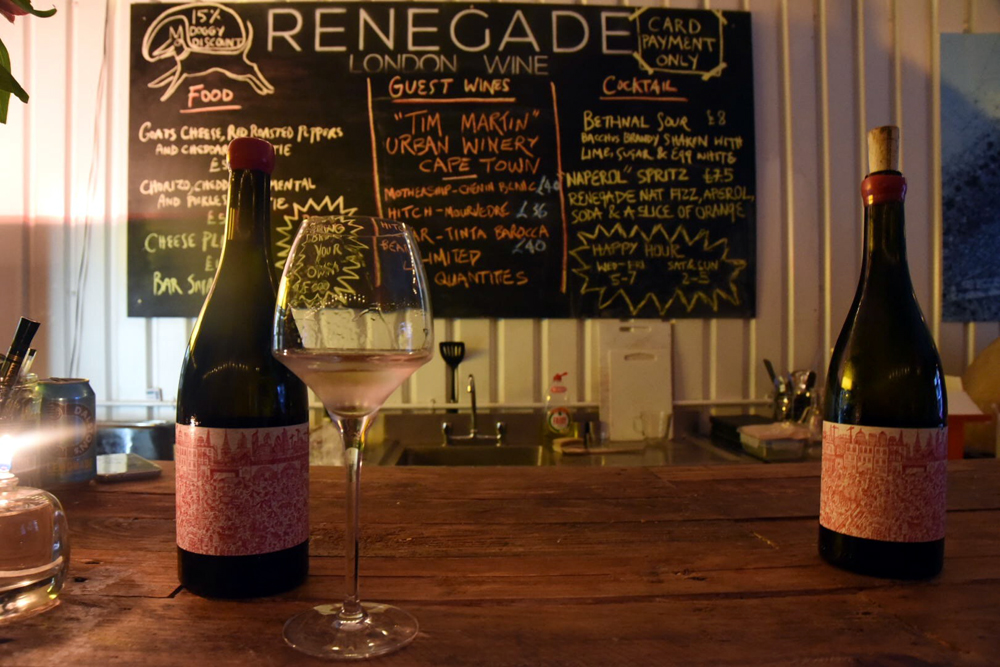 2017 Bacchus Renegade Wine