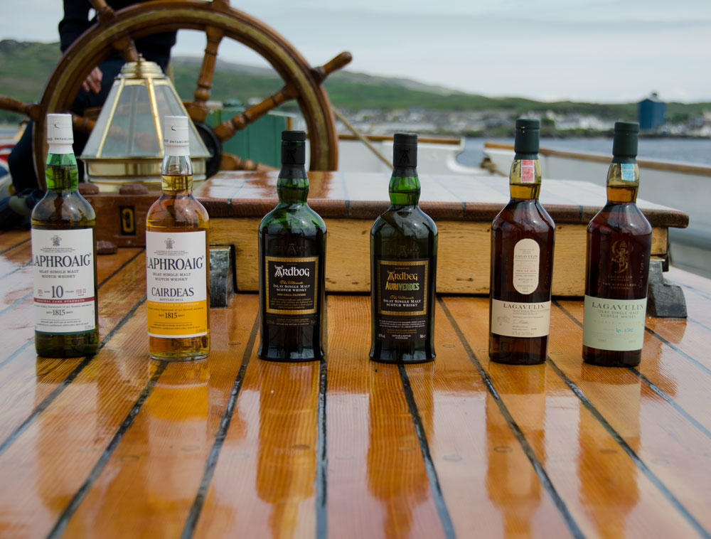 Islay whiskies