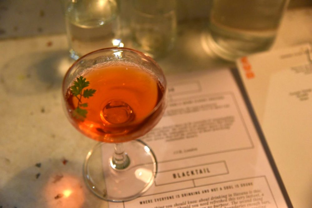 Cub x BlackTail, London Cocktail Week Takeover Dinner Review