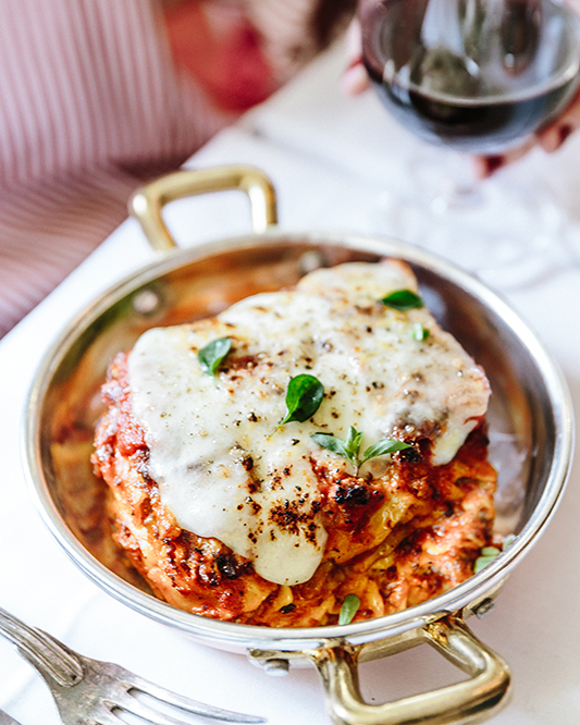 The Ten Level Lasagna - Gloria Trattoria di Big Mamma - credits Joann Pai