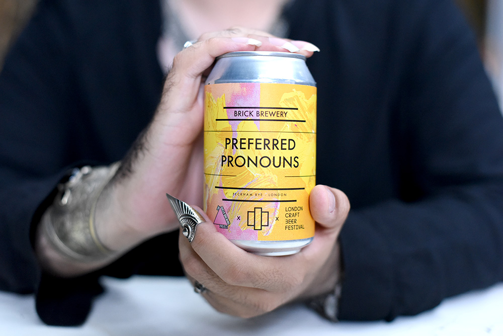 Brick Brewery Preferred Pronouns Sour @SatedOnline