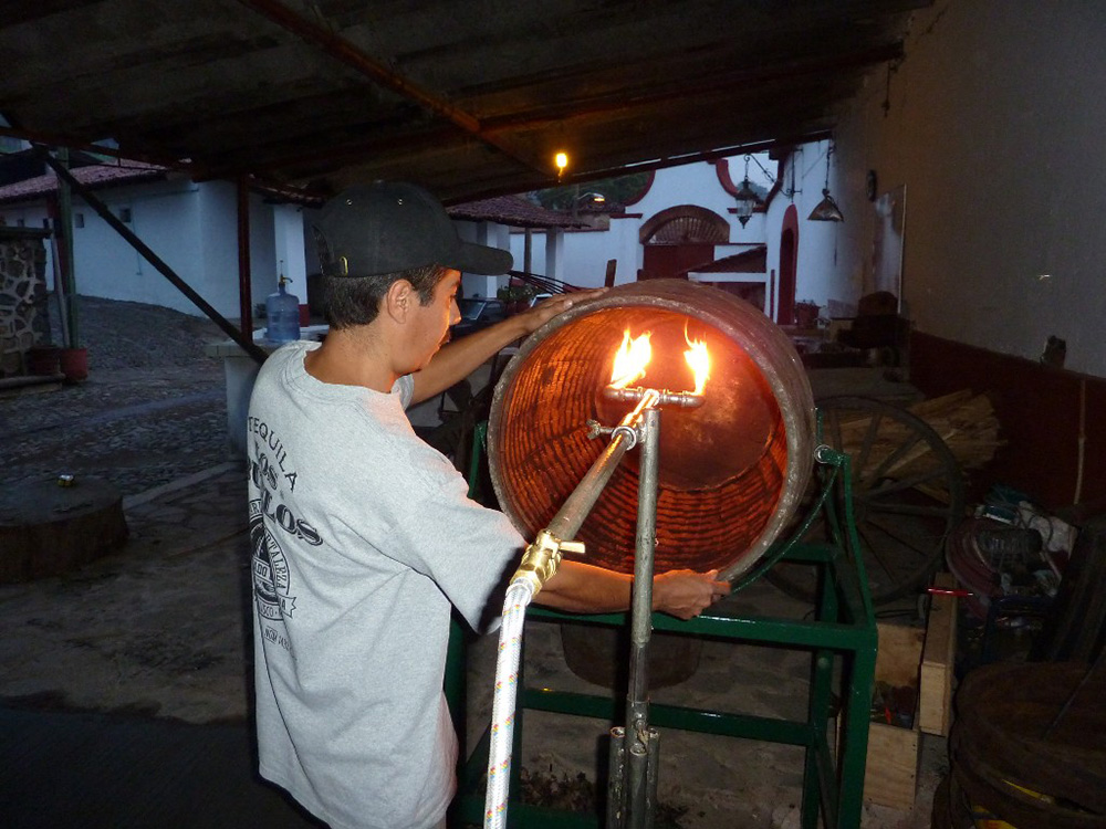 Recharring barrels