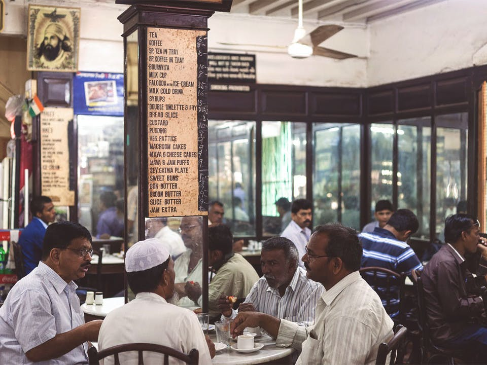 B.Merwan cafe on Grant Road, Mumbai, opened in 1914 and is still running to this day