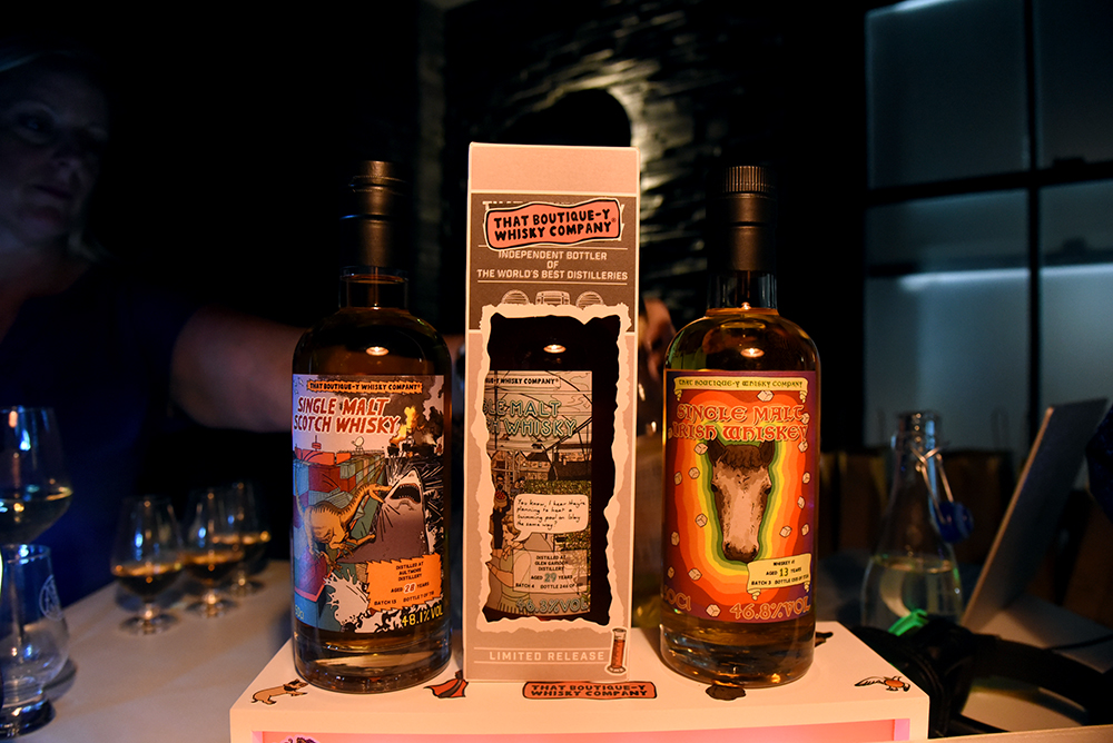 That Boutique-y Whisky Company Tasting at Milroy's Spitalfield Launch Party