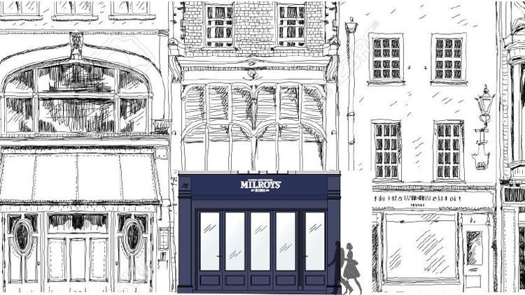 Milroy's Spitalfields drawing