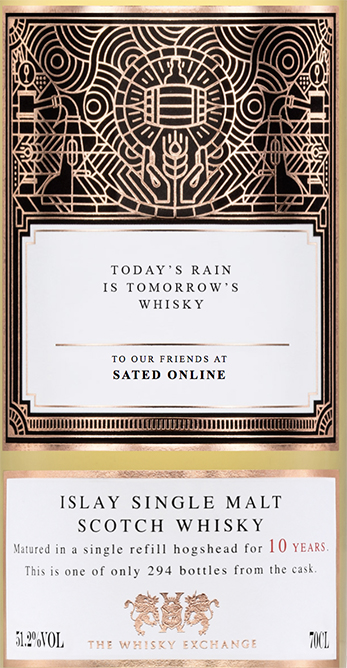 The Whisky Exchange x Sated Online