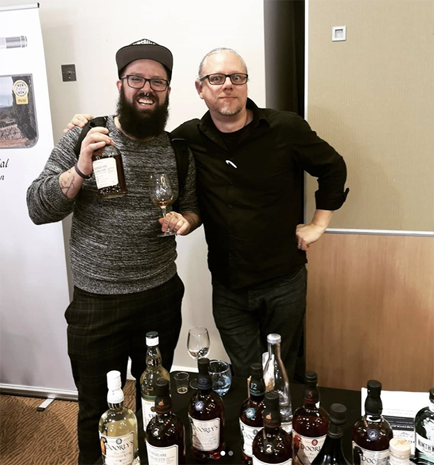 Daniele and Pete Holland (The Floating Rum Shack, Foursquare Rum Distillery, That Boutique-y Rum)
