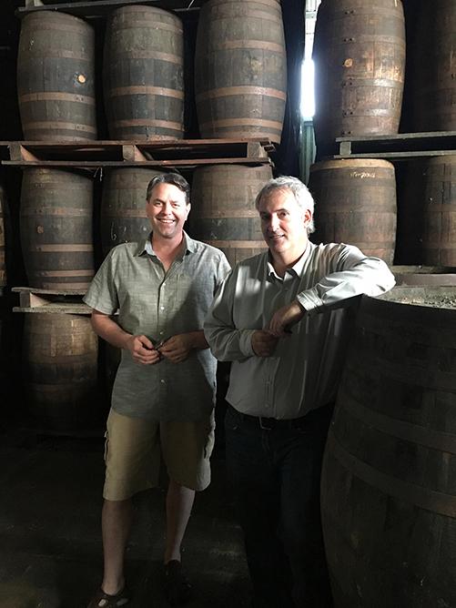 Bailey Pryor and Master Distiller, Richard Seale