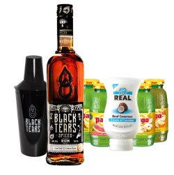 SPECIAL OFFER BLACK TEARS SPICED RUM