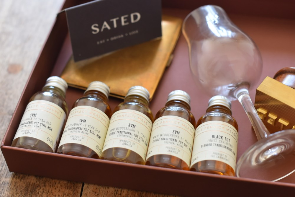 Perfect Measure Tasting Set ©SatedOnline