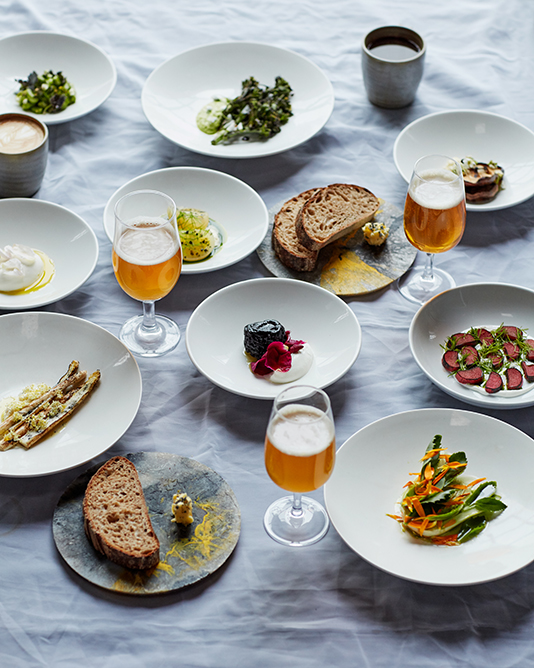 Sample of plates at Silo