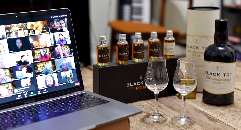 Black Tot 50th Anniversary Rum Virtual Launch Party ©SatedOnline