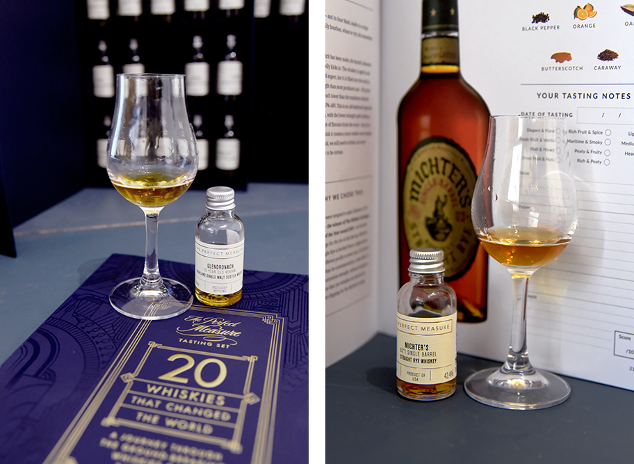 Michters and Glendronach TWE 20 whiskies that changed the world book ©Satedonline