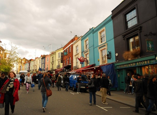 London's Gems: Portobello Road and Brick Lane