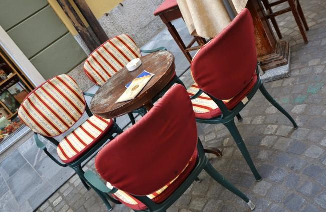 A Coffee Break in Ljubljana