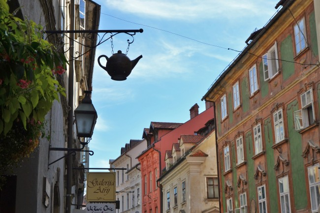Photo Essay: The Façades of Ljubljana