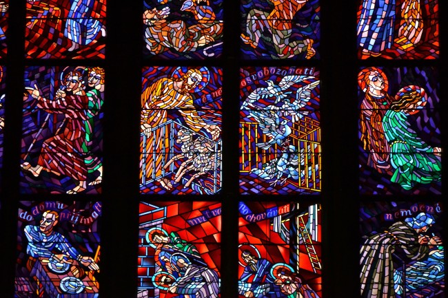 Photo Essay: The Windows of St. Vitus Cathedral in Prague