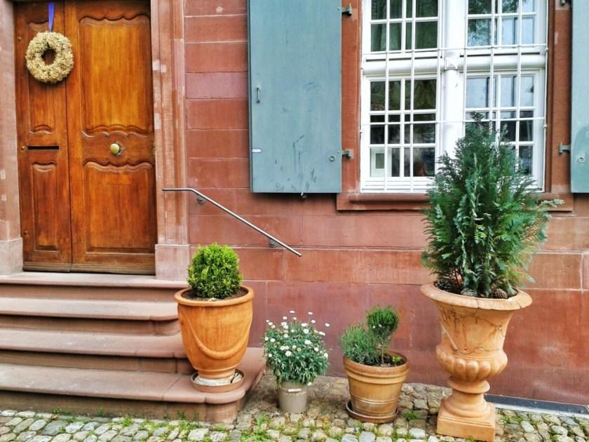Door in Basel, Switzerland