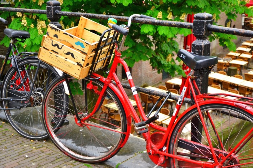 A bike in Utrecht, Holland