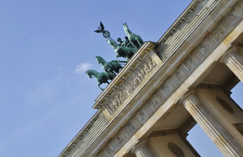 Brandenburg Gate. Berlin, Germany